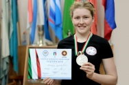 STUDENT OF MARSU WON A SILVER MEDAL ON THE EUROPEAN CHAMPIONSHIP